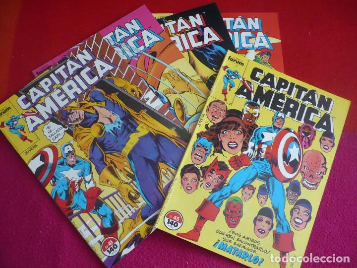 CAPITAN AMERICA VOL. 1 NºS 41, 42, 43, 44 Y 45 ( DEMATTEIS ) ¡MUY BUEN ESTADO! FORUM MARVEL (Tebeos y Comics - Forum - Capitán América)