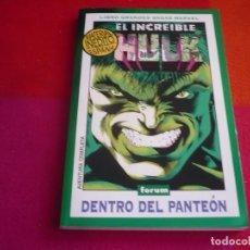 Cómics: EL INCREIBLE HULK DENTRO DEL PANTEON ( PETER DAVID KEOWN ) ¡MUY BUEN ESTADO! GRANDES SAGAS MARVEL. Lote 119163719
