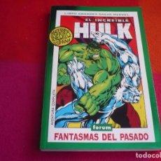 Cómics: EL INCREIBLE HULK FANTASMAS DEL PASADO ( PETER DAVID KEOWN ) ¡MUY BUEN ESTADO! GRANDES SAGAS MARVEL. Lote 119163811