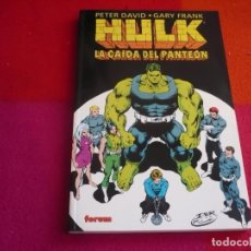 Cómics: HULK LA CAIDA DEL PANTEON ( PETER DAVID GARY FRANK ) ¡MUY BUEN ESTADO! FORUM MARVEL. Lote 119163927