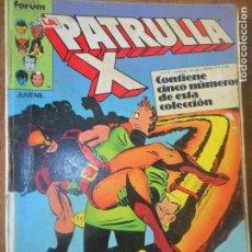 Cómics: PATRULLA X - V.1 VOLUMEN 1 - TOMO RETAPADO QUE CONTIENE DEL Nº 42 AL 46 - FORUM. Lote 119167639