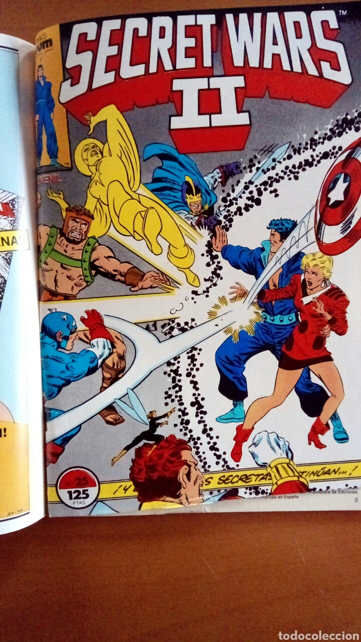 Cómics: Secret Wars II. Números del 21 al 25 - Foto 6 - 119174863