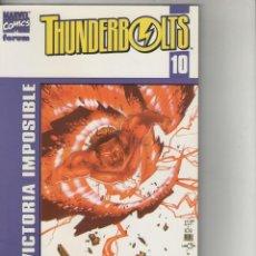 Comics : THUNDERBOLTS-VOL.2-FORUM-AÑO 2002-COLOR-FORMATO PRESTIGE- Nº 10-VICTORIA IMPOSIBLE. Lote 119180191