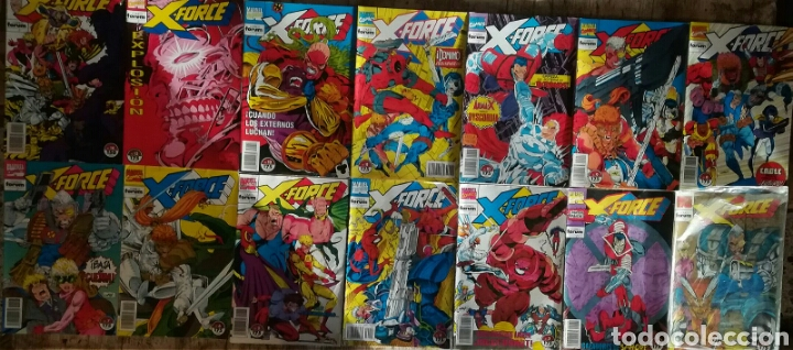 X FORCE VOL 1 32 GRAPAS MAS 2 ESPECIALES (Tebeos y Comics - Forum - Otros Forum)