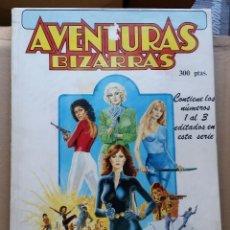 Cómics: REVISTA AVENTURAS BIZARRAS. RETAPADO CON LOS NUMEROS 1, 2 Y 3. Lote 119192067