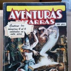 Cómics: REVISTA AVENTURAS BIZARRAS RETAPADO CON LOS NUMEROS 4, 5 Y 6. Lote 119192127