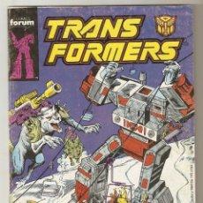 Cómics: TRANS FORMERS TRANSFORMERS - N º 51 - FORUM 1987. Lote 119261575