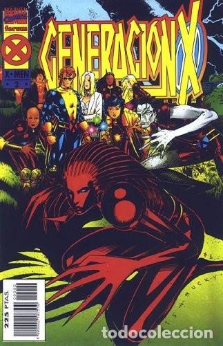 GENERACIÓN-X VOL. 1 (1995) #2 (Tebeos y Comics - Forum - Otros Forum)