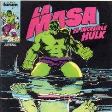 Cómics: LA MASA EL INCREIBLE HULK VOL.1 Nº 34 - FORUM. Lote 119450511