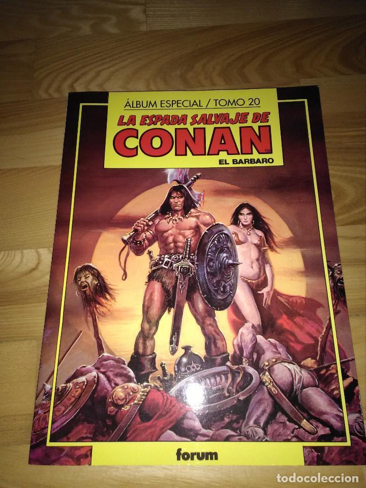 COMIC LA ESPADA SALVAJE DE CONAN VOLUMEN I NUMERO TOMO 20 NUMEROS 101 102 103 FORUM PLANETA (Tebeos y Comics - Forum - Conan)