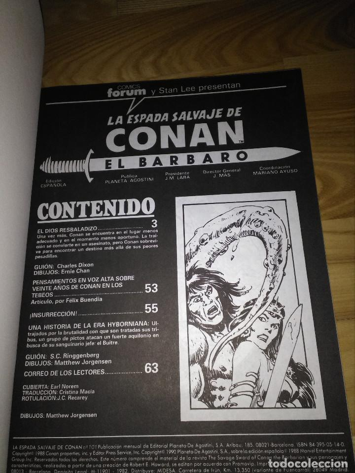 Cómics: Comic La Espada Salvaje de Conan volumen I numero tomo 20 numeros 101 102 103 forum planeta - Foto 2 - 119480383