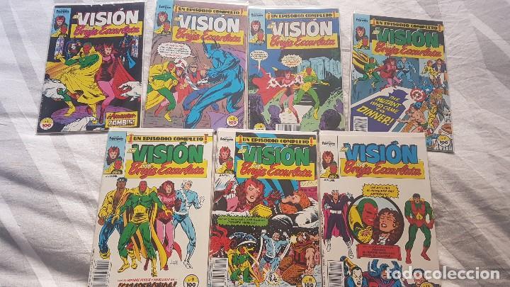 LA VISIÓN Y LA BRUJA ESCARLATA VOL.1 (OBRA COMPLETA 14 NÚMEROS) - FORUM (Tebeos y Comics - Forum - Vengadores)