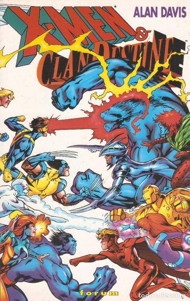 X-MEN & CLANDESTINE - ALAN DAVIS - EDT PLANETA DE AGOSTINI, 1997. TOMO PRESTIGE (TAPAS RÚSTICAS) 26 (Tebeos y Comics - Forum - X-Men)