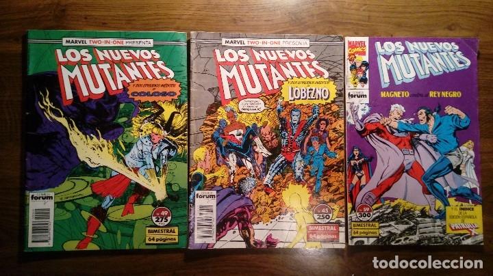 LOS NUEVOS MUTANTES Nº 45, 49 Y 59 FORUM. (Tebeos y Comics - Forum - Nuevos Mutantes)