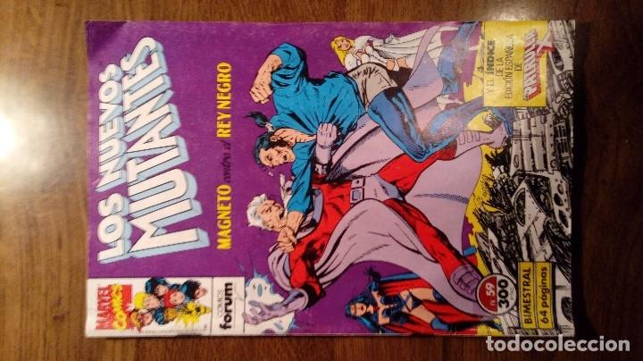Cómics: LOS NUEVOS MUTANTES nº 45, 49 y 59 Forum. - Foto 12 - 96190015