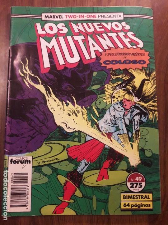 Cómics: LOS NUEVOS MUTANTES nº 45, 49 y 59 Forum. - Foto 3 - 96190015