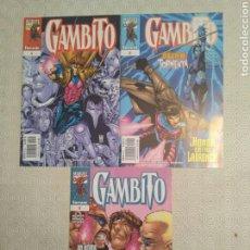 Cómics: GAMBITO - VOLUMEN 3 #1-3. Lote 119761472