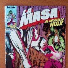 Cómics: LA MASA, EL INCREÍBLE HULK. N°33. Lote 119839338