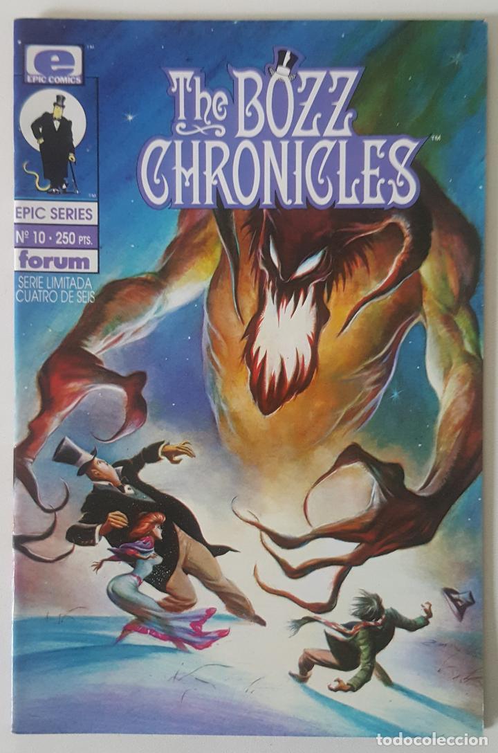 EPIC SERIES #10 THE BOZZ CHRONICLES (FORUM, 1992) (Tebeos y Comics - Forum - Otros Forum)