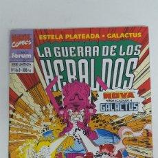Cómics: ESTELA PLATEADA Nº 1 DE 3 LA GUERRA DE LOS HERALDOS. Lote 119893323