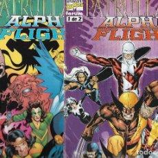 Cómics: PATRULLA X / ALPHA FLIGHT – 2 COMICS - ED PLANETA, 1999 – COMPLETA .. Lote 119904347
