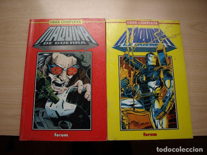 MAQUINA DE GUERRA - OBRA COMPLETA EN DOS RETAPADOS CON 12 NÚMEROS - FORUM (Comics und Tebeos - Forum - Neu eingebunden)