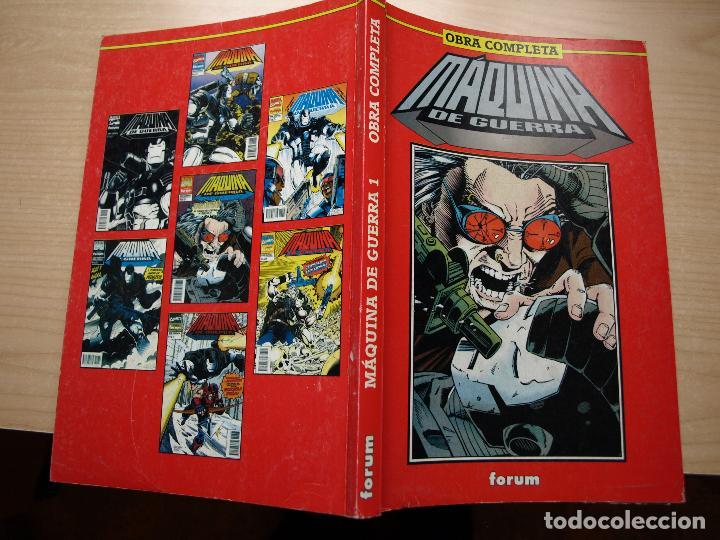 Comics: MAQUINA DE GUERRA - OBRA COMPLETA EN DOS RETAPADOS CON 12 NÚMEROS - FORUM - Foto 2 - 120063023