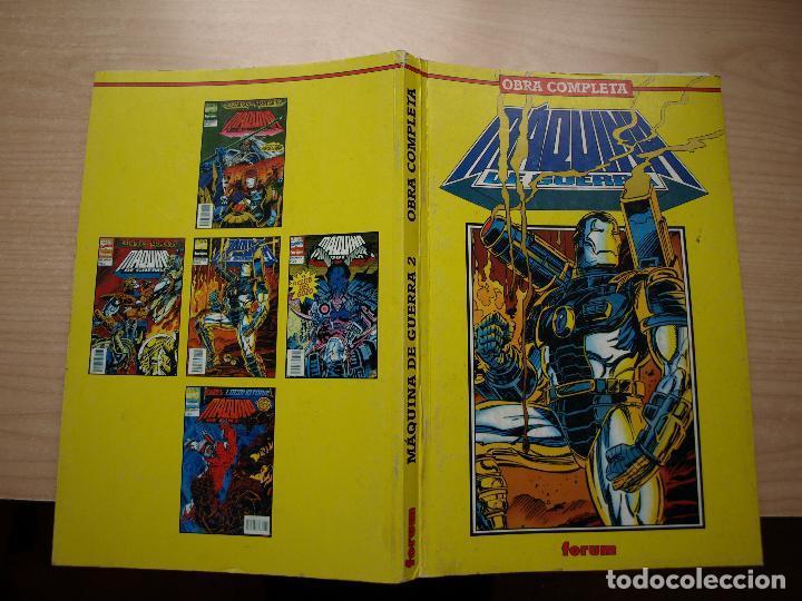 Comics: MAQUINA DE GUERRA - OBRA COMPLETA EN DOS RETAPADOS CON 12 NÚMEROS - FORUM - Foto 3 - 120063023