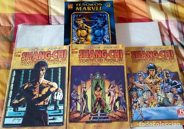 SHANG-CHI 3 (TOMOS FORUM) 1 (TESOROS MARVEL) Y 3 (MAX) (Tebeos y Comics - Forum - Prestiges y Tomos)