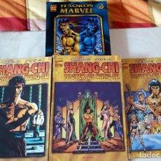 Cómics: SHANG-CHI 3 (TOMOS FORUM) 1 (TESOROS MARVEL) Y 3 (MAX). Lote 120108419