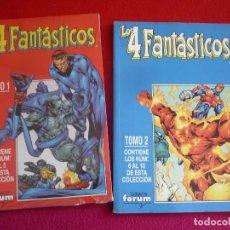 Cómics: LOS 4 FANTASTICOS VOL. 4 NºS 1 AL 5 + 6 AL 10 RETAPADO ( PACHECO MERINO ) ¡MUY BUEN ESTADO! FORUM . Lote 120187375