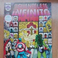 Cómics: EL GUANTELETE DEL INFINITO NUMERO 2.1991.JIM STARLIN. Lote 120209951