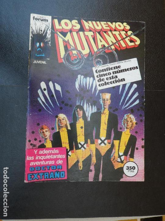 NUEVOS MUTANTES - TOMO RETAPADO CON LOS Nº 21 22 23 24 25 EDICIONES FORUM (Tebeos y Comics - Forum - Nuevos Mutantes)
