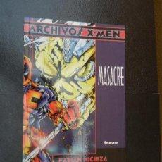 Cómics - ARCHIVOS X-MEN - MASACRE EDICIONES FORUM - 120261851