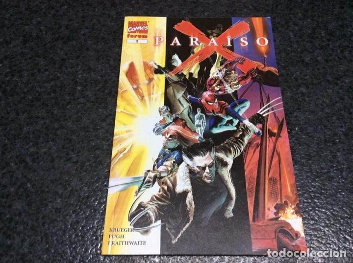 PARAISO X Nº 1 -EDITA - FORUM (Tebeos y Comics - Forum - Prestiges y Tomos)