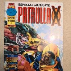 Cómics: ESPECIAL MUTANTE PATRULLA X ESPECIAL X-MEN 1 ACOSADOS POR EL FUTURO. Lote 120472943