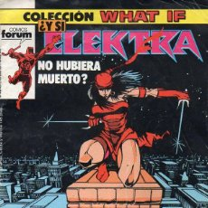 Cómics: WHAT IF Nº 7 ELEKTRA. Lote 120474627