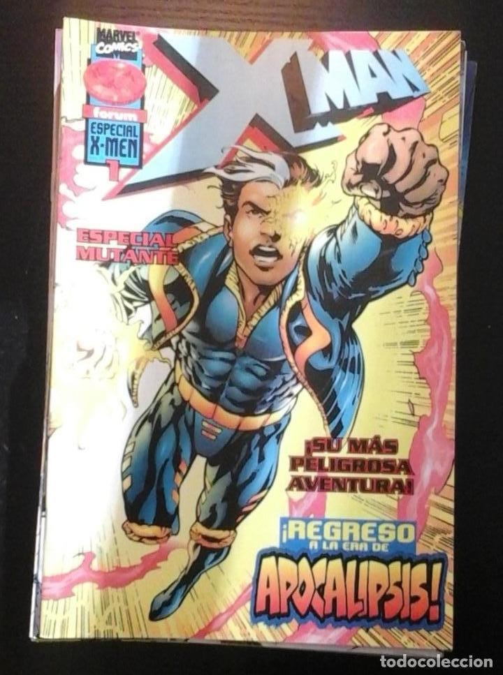 Cómics: X man volumen 2 Lote 1 al 44 + Especial Regreso excepto 29 36 37 38 39 - Foto 2 - 65446862