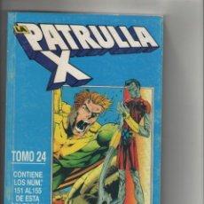 Cómics: LA PATRULLA X-RETAPADO DE 5Nº-AÑO 1989-FORUM-COLOR-TOMO 24-Nº 151 AL 155. Lote 120497983