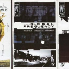 Cómics: GLOBAL FREQUENCY NUMEROS 2, 3 Y 6. WARREN ELLIS, GLEN FABRY, STEVE DILLON Y DAVID LLOYD. Lote 120523491