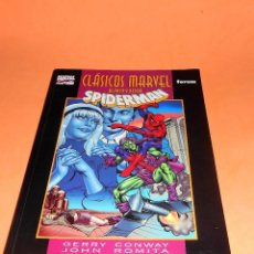Cómics: SPIDERMAN / CLÁSICOS MARVEL BLANCO Y NEGRO / GERRY CONWAY - JOHN ROMITA - STAN LEE / MARVEL - FORUM. Lote 120570183