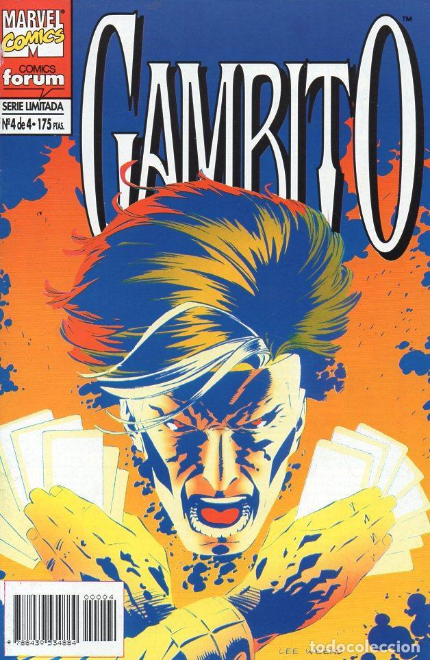 Cómics: GAMBITO EL HOMBRE X CAJUN - SERIE COMPLETA 4 NÚMEROS - Foto 2 - 120589779