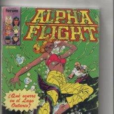 Cómics: ALPHA FLIGHT-FORUM-AÑO 1986-RETAPADO DE 5Nº-COLOR-Nº 11 AL 15. Lote 120672807