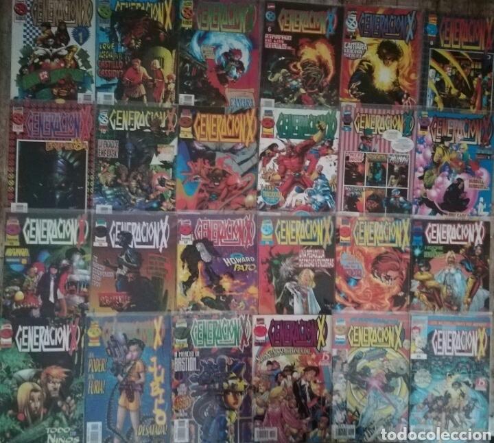 GENERACION X VOL 2 47 GRAPAS CASI COMPLETAS (Tebeos y Comics - Forum - Otros Forum)