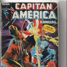 Cómics: CAPITAN AMERICA-FORUM-AÑO 1987-RETAPADO DE 5Nº-COLOR-Nº 21 AL 25. Lote 120721207