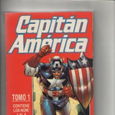 Cómics: CAPITAN AMERICA-VOL.4-FORUM-AÑO 1998-COLOR-RETAPADO DE 5Nº-TOMO 1-Nº 1 AL 5. Lote 120722791