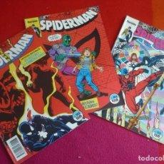 Cómics: SPIDERMAN VOL. 1 NºS 183, 184 Y 185 ( PETER DAVID BUSCEMA ) ¡BUEN ESTADO! MARVEL FORUM. Lote 120925231