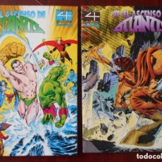 Cómics: 4 FANTASTICOS EL ASCENSO DE ATLANTIS COMPLETA 2 TOMOS - FORUM - OFS15. Lote 120996391