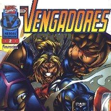 Cómics: HÉROES REBORN: LOS VENGADORES VOL.1 Nº 2 - FORUM IMPECABLE. Lote 121012339