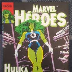 Cómics: MARVEL HEROES #38 (FORUM, 1990). Lote 121040987